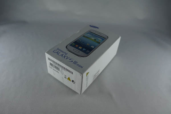 Samsung Galaxy S3 Mini i8190 Box Accessories With EU Charger