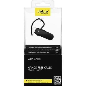 Jabra Classic Bluetooth Headset Black Retail Packed