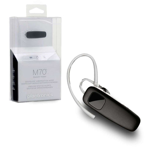 Plantronics M70 Bluetooth Headset Retail Packed