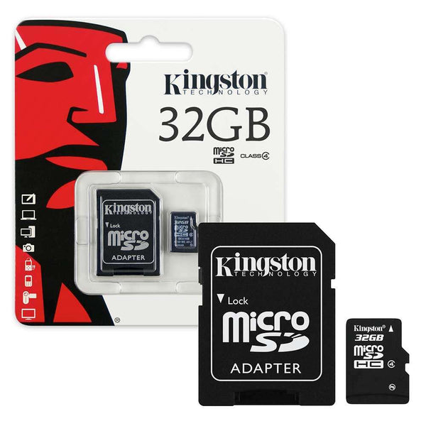 Kingston Micro SD Card 32GB Class 4 Retail Packed