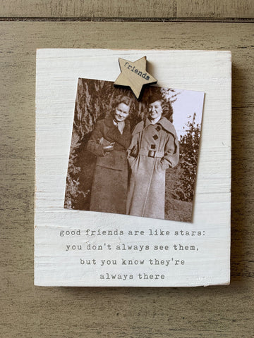 Friends are like Stars Magnet Frame