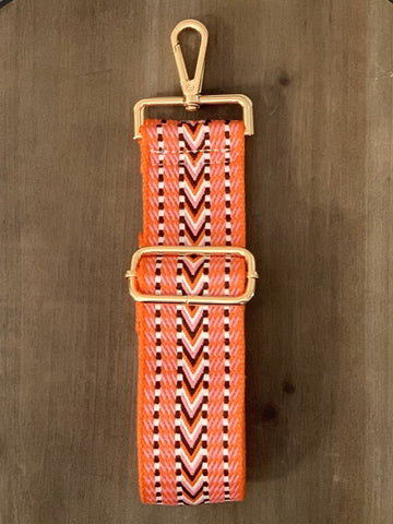 Adjustable Strap - Orange Brown