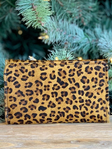 Animal Print Sass Hair-on-Hide Wallet
