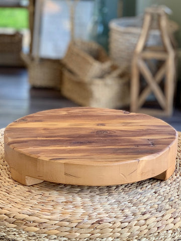 Classic Round Trivet Classic Round Trivet JC Pickup Only Reclaimed wood