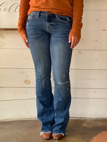 Dear John Rodeo Rosie Flares Distressed