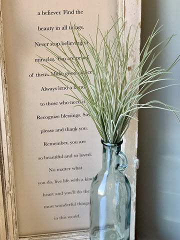 Faux Botanical Stem - Sea Grass