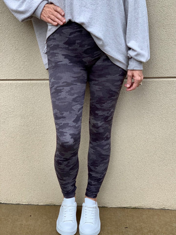 Look at Me Now Spanx Leggings - Heather Camo