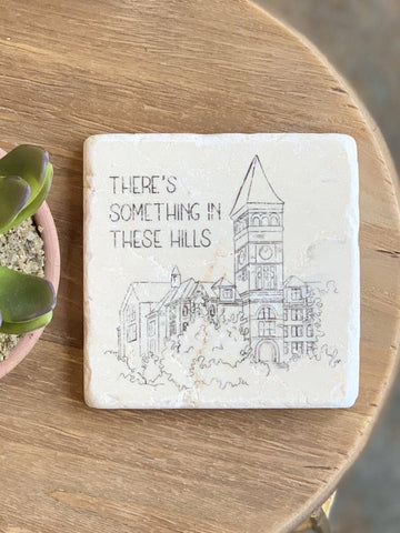 Old Main Clemson Coaster