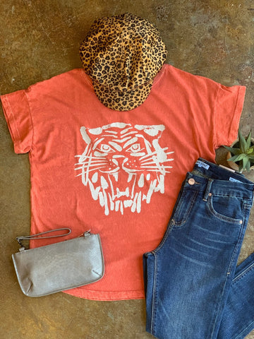 Orange Crush Tiger Tee