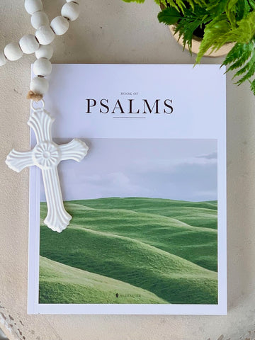 Book of Psalms coffee table book Bible