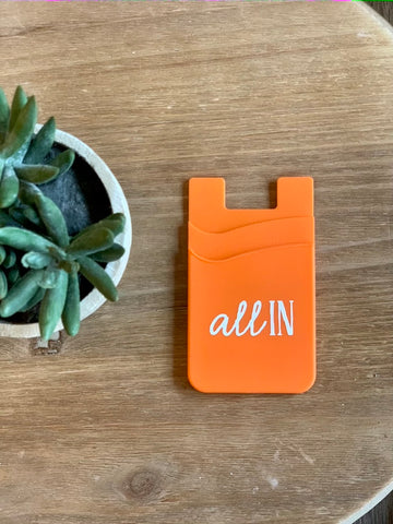 Silicone Phone Wallet - All In