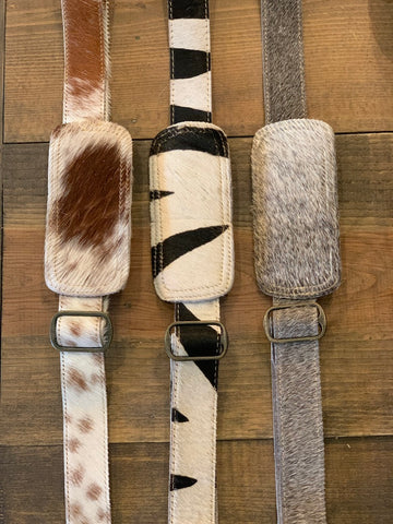 Natural Hair-on-Hide Strap