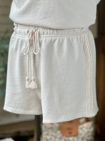 Z Supply Washed Ashore Terry Short - White Sand ZLS212630