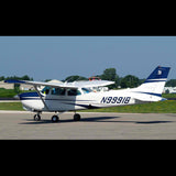 Cessna 172 Cutlass RG (Blue/Silver) Airplane Design