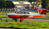 Beechcraft Bonanza S35 (Red/Tan) Airplane Design