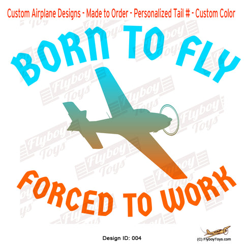 Born to Fly Airplane Aviation Design