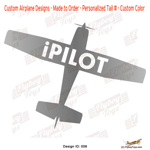 iPilot Airplane Aviation Design