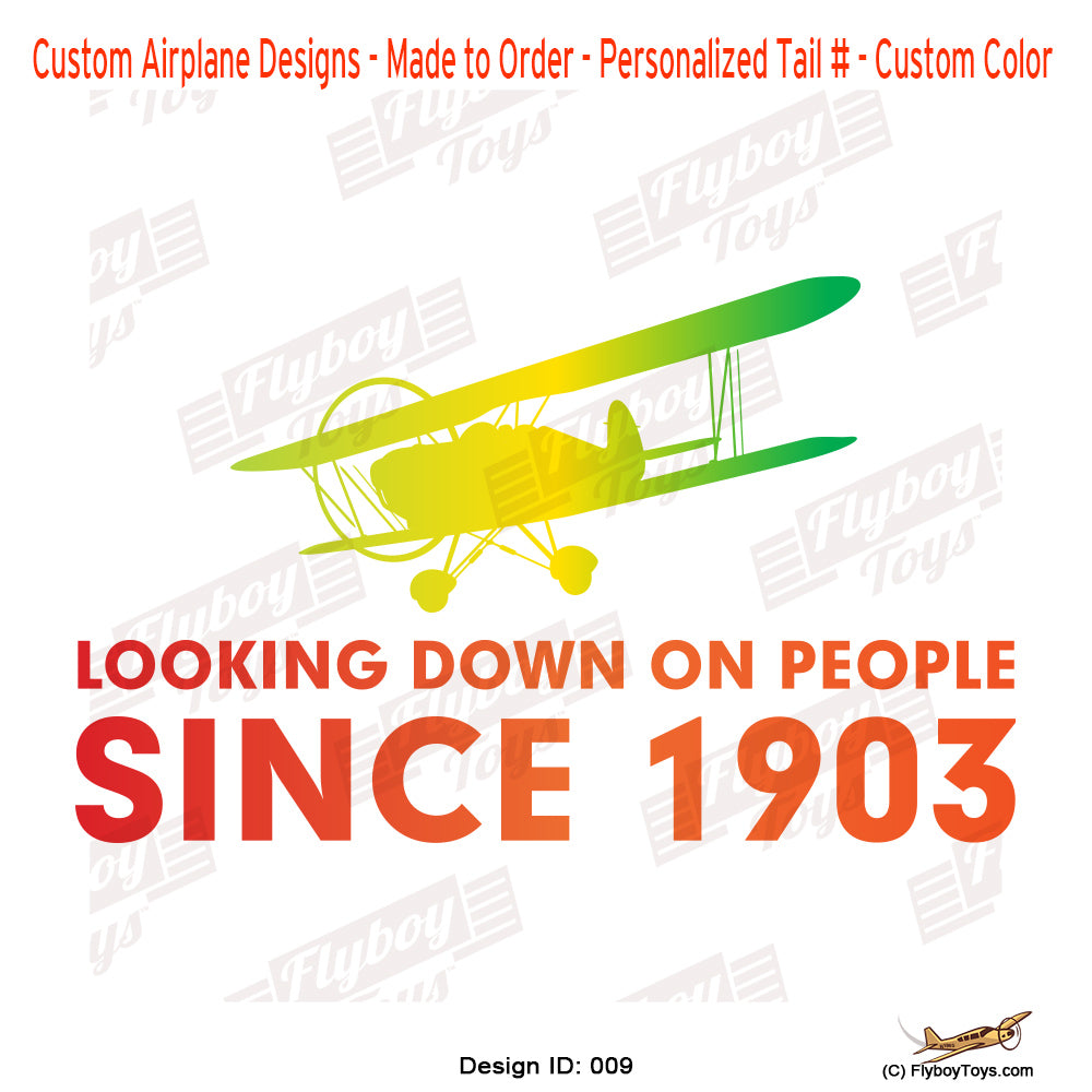 Looking Down On People Airplane Aviation Design