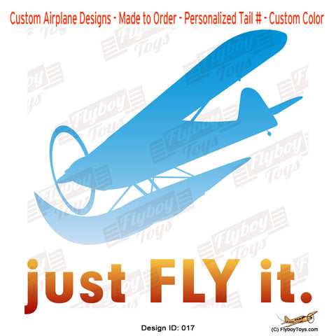 Just Fly It Airplane Aviation Design