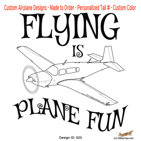 Flying Is Plane Fun Airplane Aviation Design