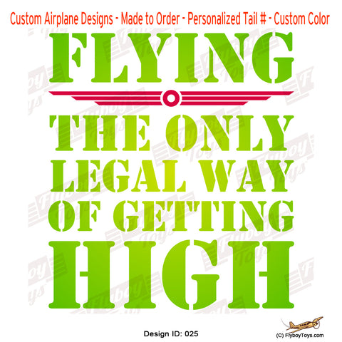 The Only Legal Way Airplane Aviation Design