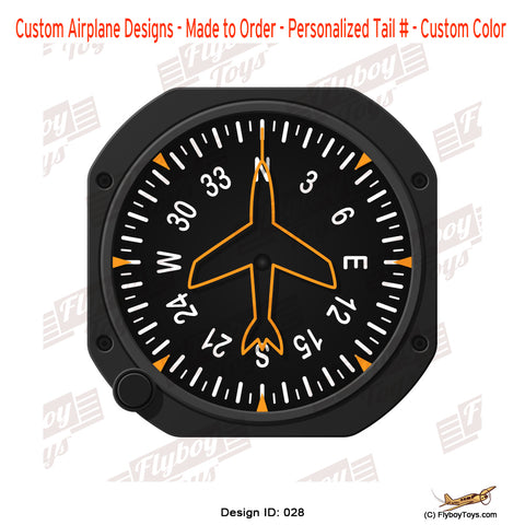 Heading Indicator Airplane Aviation Design