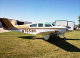 Beechcraft Bonanza V35A Brown model 1