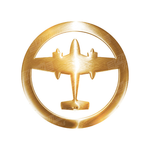 Airplane Badge 2 Aviation Design