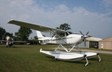 Cessna 182P Skylane with Floats (Black/Silver) Airplane Design