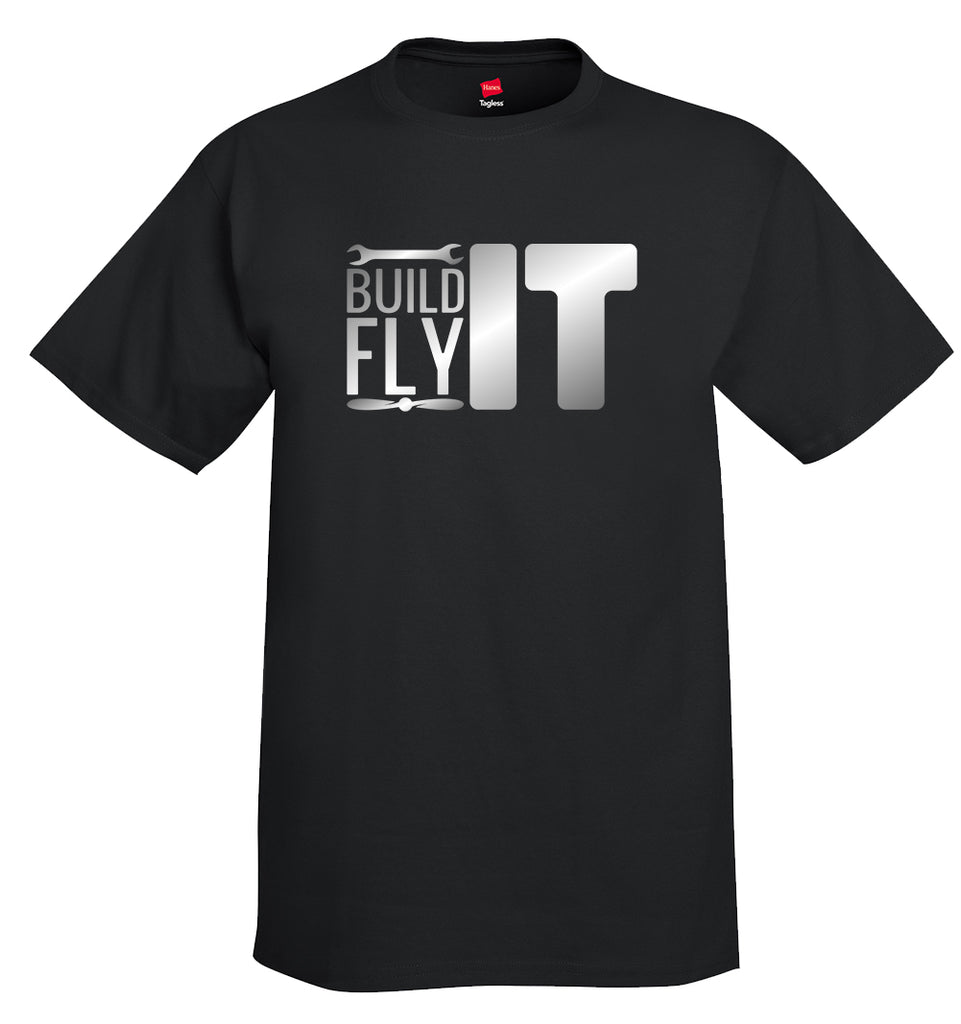 Build It Fly It Aviation Airplane T-Shirt