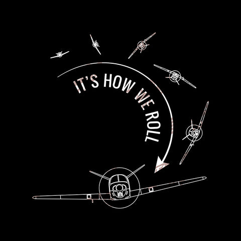 It's How We Roll Airplane Aviation Design