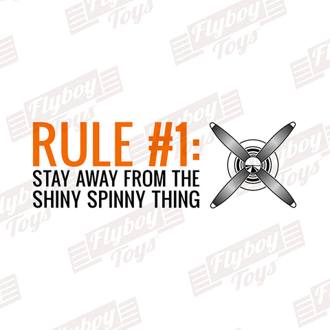 Rule No. 1 Airplane Aviation Design