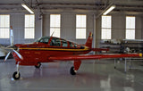 Beechcraft Bonanza A36 (Red/Black/Yellow) Airplane Design