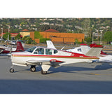 Beechcraft Bonanza M35 V-Tail (Red/Gold) Airplane Design