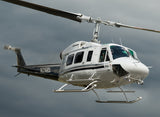 Bell 214 with bambi bucket (Silver/Black) Helicopter Design