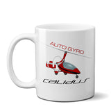 AutoGyro Calidus 912 Airplane Ceramic Mug - Personalized w/ N#