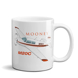 Mooney M20C Airplane Ceramic Mug - Personalized