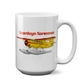 Noorduyn Norseman Airplane Ceramic Mug - Personalized w/ N#
