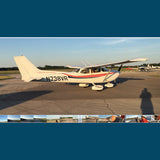 Cessna 172 Skyhawk (Red/Blue) Airplane Design