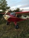 Taylorcraft F-21B (Cream/Red) Airplane Design