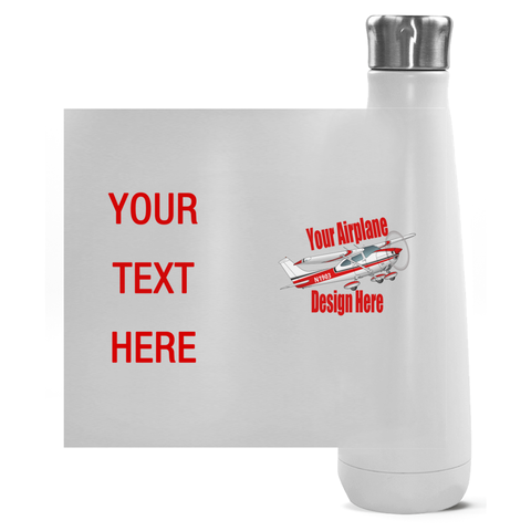 Custom Airplane Peristyle Bottles