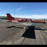 Socata Tobago TB 10 (Red/Gold) Airplane Design