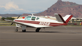 Beechcraft Bonanza G35 (Red/Gold) Airplane Design