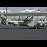 Eurocopter Gazelle (Green) Helicopter Design