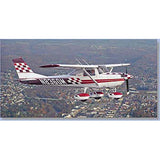 Cessna 150 (Maroon/Red) Airplane Design