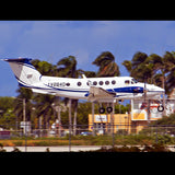 Beechcraft Super King Air (Blue) Airplane Design