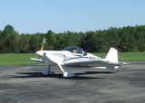 Van's Aircraft RV-6 (Blue/Silver) Airplane Design