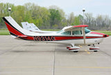 Cessna 182 Skylane (Red/Black) Airplane Design
