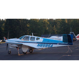Beechcraft Bonanza V35 Blue model
