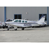 Beechcraft Bonanza A36 (Blue/Black/Silver) Airplane Design